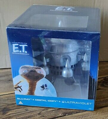 £74.95 • Buy E.T. Limited Edition Spaceship & Exclusive Digibook Brand New Sealed ET Blu-Ray