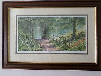 £24.99 • Buy Summer Reflections By Terry Harrison Framed Signed Print 24  X 16½