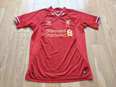 £1.99 • Buy Mens Warrior Liverpool Home Football Shirt 2013 - 2014 Size S