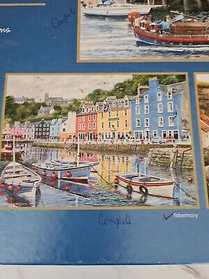 £0.99 • Buy Gibson Westcountry Terry Harrison Tobermory 500 Piece Puzzle Please Read Descrip