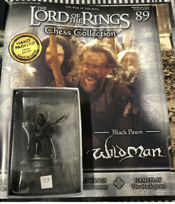 £17.50 • Buy Lord Of The Rings Chess Piece. 3rd Set. Wildman No 89 With Magazine