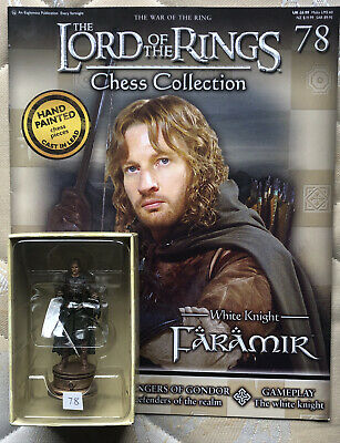 £15 • Buy Lord Of The Rings Chess Piece. 3rd Set. Faramir No 78 With Magazine.