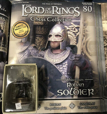 £17.50 • Buy Lord Of The Rings Chess Piece. 3rd Set. Rohan Soldier No 80 With Magazine
