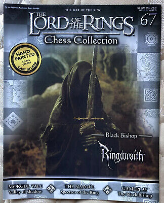£3.50 • Buy Lord Of The Rings Chess Set Magazine Only. No 67. Ringwraith. Free Postage