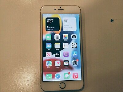 AU200.29 • Buy [Used] Apple IPhone 6s Plus - 128GB - Rose Gold (AT&T) A1634 (CDMA + GSM)