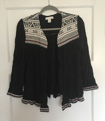 £8.50 • Buy H&M Cardigan With Aztec Style Design