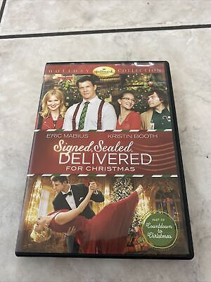 AU34.62 • Buy Signed Sealed Delivered For Christmas DVD Hallmark Eric Mabius Kristin Booth