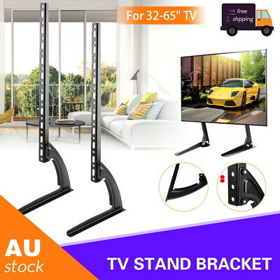 AU34.60 • Buy Universal Table Top TV Stand Leg Mount LED LCD Flat TV Screen 32-75  For Sony LG