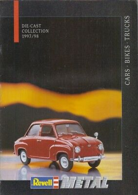£4.95 • Buy Revell 1:12 1:18 1:24 Die-cast Model Cars Bikes Truck 1997-98 Product Catalogue