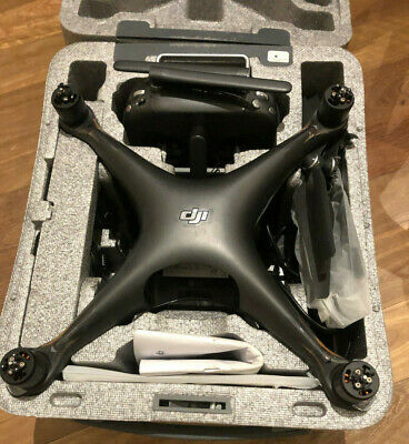 AU361 • Buy DJI Phantom 4 Pro Drone Broken For Parts With 2 Usable Batteries