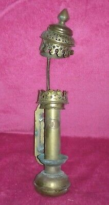 £25 • Buy Vintage Gnr Brass Railway Carriage Lamp Candle Holder   (br13)
