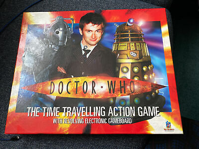 £12 • Buy Doctor Who The Time Travelling Action Game With Revolving Electronic Game Board