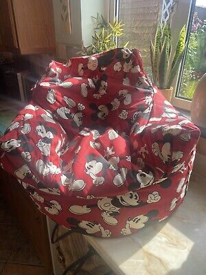 £25 • Buy Child's Mickey Mouse Beanbag Chair