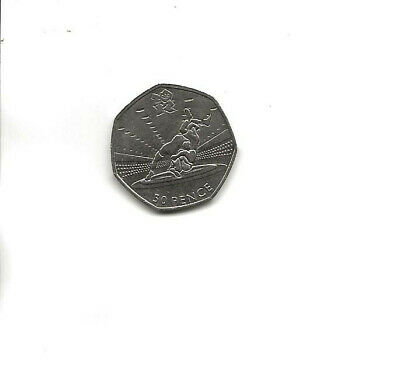 £4.99 • Buy 2011 50P FIFTY PENCE COIN - WRESTLING - LONDON OLYMPICS 2012 - Circulated