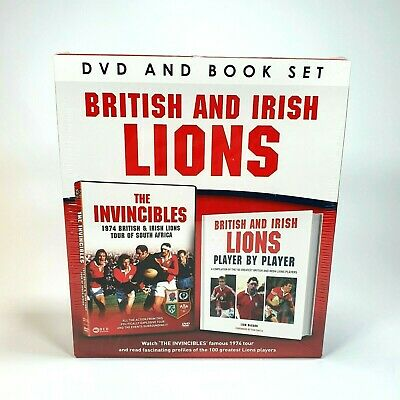 £10.87 • Buy British And Irish Lions DVD + Book 1974 Rugby Tour Of South Africa Test Series