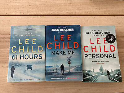 £2.50 • Buy Lee Child Triple Book Collection - Jack Reacher Trillers (Paperbacks)