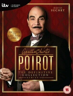 £49.99 • Buy Poirot - Complete Series 1-13  Definitive Collection            Fast Shipping