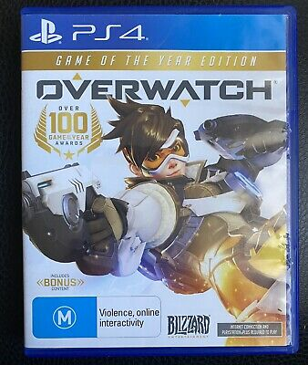 AU10 • Buy PlayStation 4 PS4 Game : OVERWATCH GAME OF THE YEAR EDITION !