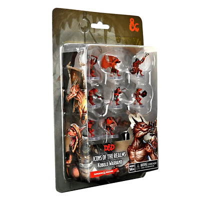 AU77.95 • Buy Dungeons & Dragons Icons Of The Realms Kobold Warband Premium Figure Set NEW