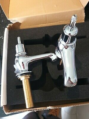 £60 • Buy Burlington Anglesey Regent Pair Of Cloakroom Basin Taps, 3 , Traditional Design
