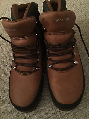 £38 • Buy New Rockport Size 10M Brown Nubuck Boots