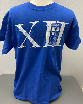 £20.40 • Buy Doctor Who 12th Doctor And Tardis Peter Capaldi Graphic T-Shirt Medium M