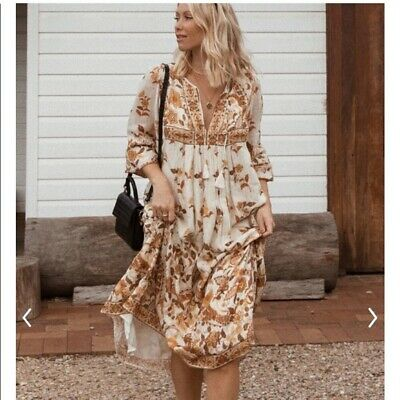 AU267.06 • Buy Spell And The Gypsy Collective Hendrix Dress Size XXL Extra Extra Large
