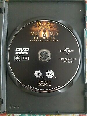 £1.30 • Buy The Mummy Returns 2 Disc Special Edition Dvd