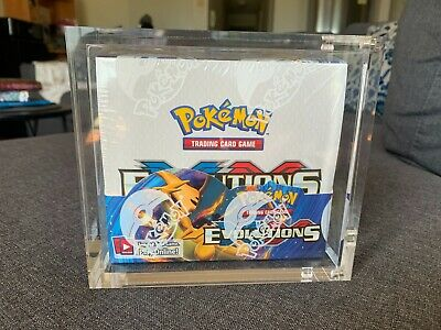 AU950 • Buy Pokemon XY Evolutions Booster Box SEALED In Acrylic Case Brand New- 36 Packs