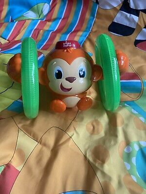 £1.60 • Buy Bright Starts Learn Roll & Glow Monkey│Baby/Kids Musical Toy With Lightup Wheel
