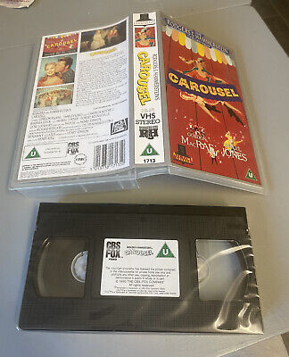 £1.99 • Buy Rodgers And Hammerstein 1990 Carousel (VHS/SH) SEALED Rare