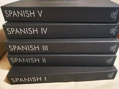 £77.59 • Buy Best Way To Learn Spanish With Pimsleur Approach Levels 1-5 Total 80 CD's