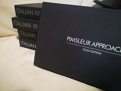 £77.59 • Buy Best Way To Learn Italian With Pimsleur Approach Levels 1-5 Total 80 CD's