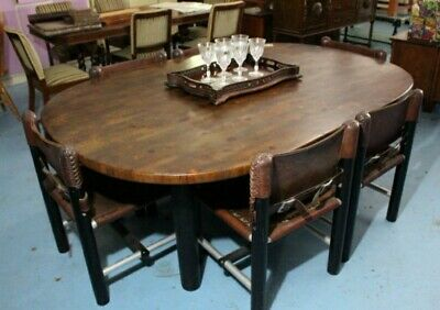 AU500 • Buy Stunning Robert Dunlop Designer Dining Table And 6 Chairs.