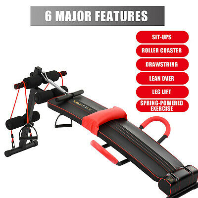 £40.91 • Buy Foldable Sit Up Bench Abdominal Weight Bench Ab Crunch Home Gym Exercise GB*