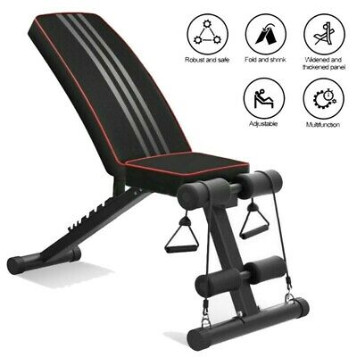 £29.59 • Buy Folding Weight Lifting Bench Press Body Workout Exercise Bench Home Fitness GB*