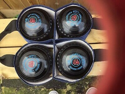 £90 • Buy DRAKES PRIDE Advantage Lawn Bowls 2h With Carrier
