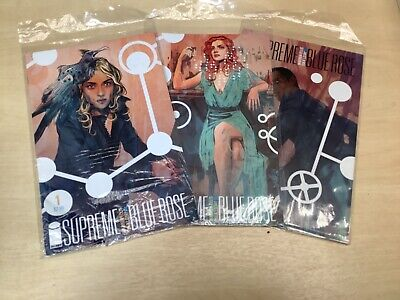 £7.19 • Buy Image Comics - Supreme Blue Rose Issues 1, 2 And 3 In Comic Sleeves