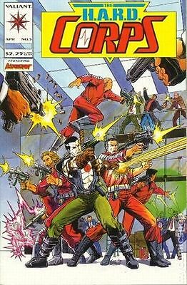 £3.98 • Buy Wholesale Lot Of 8 Copies Valiant Comic The H.a.r.d. Corps #5  Bin W-1 In Sleeve