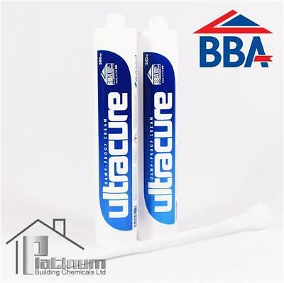 £18.95 • Buy 2 X ULTRACURE Damp Proof Injection Cream | DPC Course Rising Damp Treatment