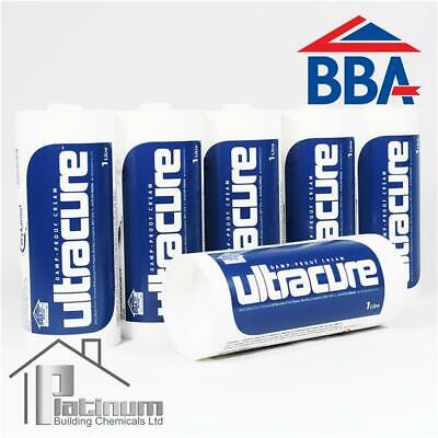 £94.70 • Buy ULTRACURE DPC Injection Cream 6 X 1L | Damp Proof Course Rising Damp Treatment