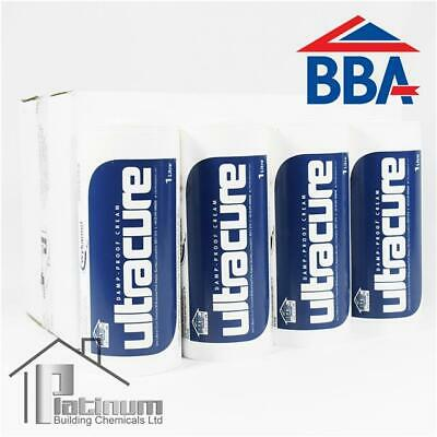 £178.50 • Buy ULTRACURE DPC Injection Cream 12 X 1L | Damp Proof Course Rising Damp Treatment