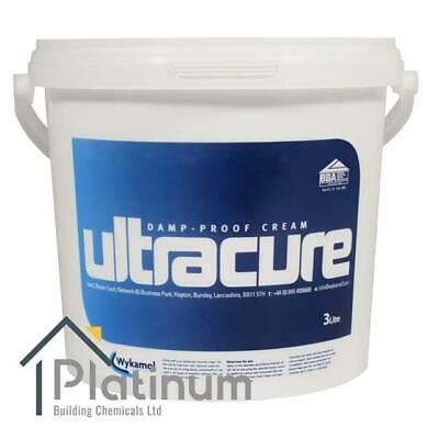£47.50 • Buy ULTRACURE DPC Injection Cream 3 Litre | Damp Proof Course Rising Damp Treatment
