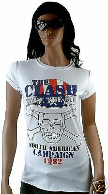£38.04 • Buy AMPLIFIED THE CLASH North America USA 1982 Rock Star Vintage ViP T-Shirt G.S
