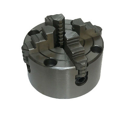 Rdgtools New 100mm 4 Jaw Independent Lathe Chuck Front Mount • 63.50£