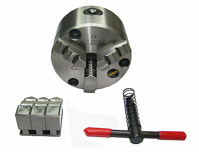 Rdgtools 125mm 3 - Jaw Self Centering Lathe Chuck Front Mount Engineering Tools  • 86.50£