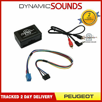 £34.95 • Buy MP3 IPod Aux Input Interface Adaptor For PEUGEOT 206 307 406 607 807