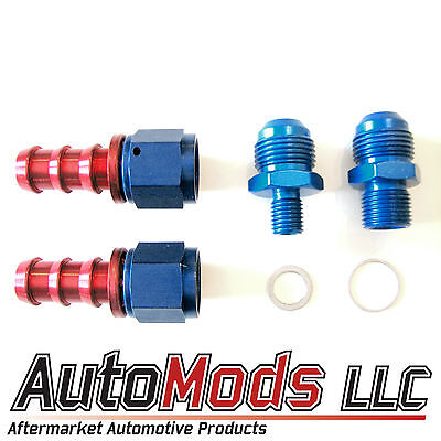 AU45.16 • Buy -6(3/8 ) AN Barb Fitting Kit Bosch 044 Fuel Pump