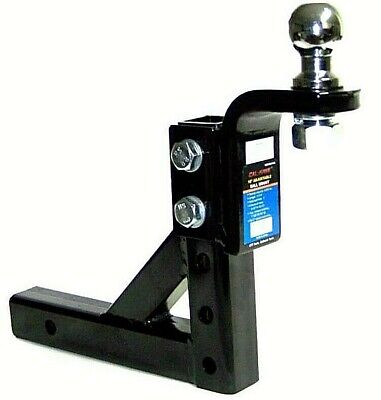 $40.99 • Buy Adjustable Trailer 10  Drop Hitch Ball Mount 2  Receiver With1-7/8  Hitch Ball