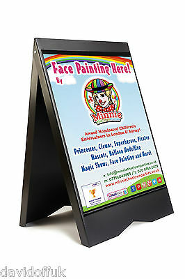 A-board Pavement Sign Menu Sandwich Board Poster Or Full Colour Graphics New • 41£